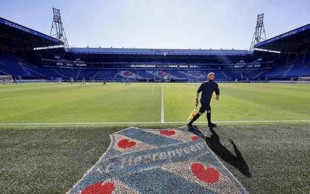 Im Stadion des SC Heerenveen werden am Samstag 15.000 Teddybären im Klubtrikot platziert.