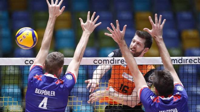 Éder Carbonera (Nr. 16) und die BR Volleys wollen auch diese Saison wieder ihre Ausnahmestellung beweisen