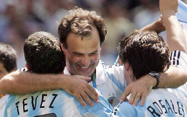 Marcelo Bielsa gewann 2004 mit Argentinien Olympia-Gold in Athen