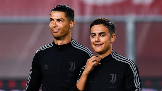 Cristiano Ronaldo und Paulo Dybala von Juventus Turin