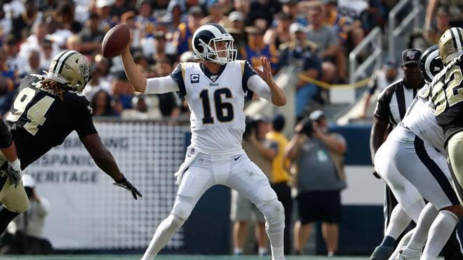 Wieder Schiri-Ärger bei Rams - Saints