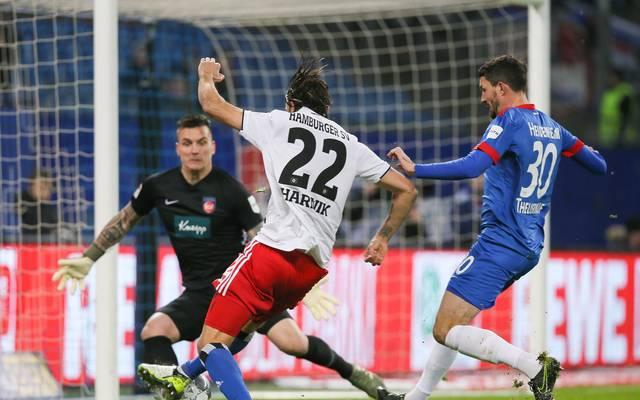 Im Hinspiel gewannen die Heidenheimer mit 1:0