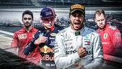 Fahrerzeugnisse der Formel 1
