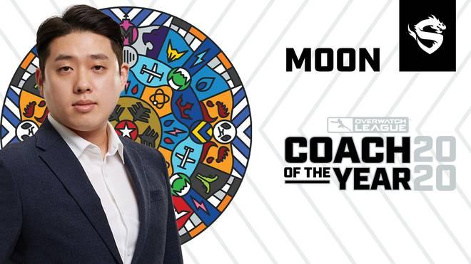 Moon Byung-chul wurde als Coach des Jahres in der Overwatch League ausgezeichnet. Gegenwärtig trainiert dieser die Shanghai Dragons