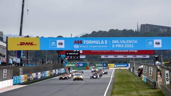 Beim Formel-1-Rennen in Valencia ging der Vielzahl der Fahrer in ihren Autos die Energie aus