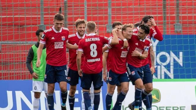 Die SpVgg Unterhaching drehte das Spiel gegen den SV Meppen