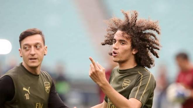 Mattéo Guendouzi und Mesut Özil wurden beim FC Arsenal aussortiert
