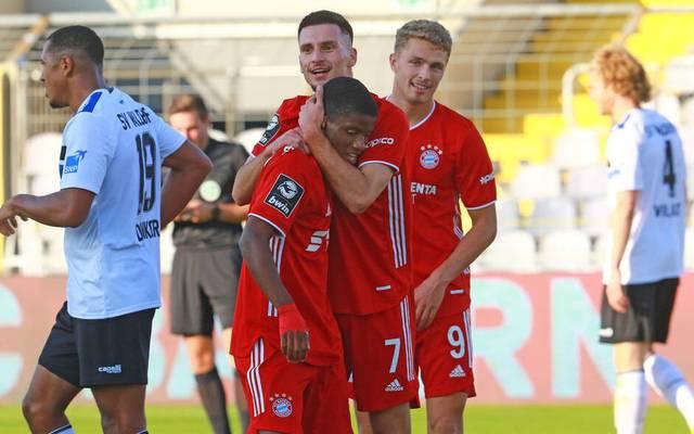 Rémy Vita (M.) soll eigentlich in der zweiten Mannschaft in der 3. Liga Erfahrung sammeln.