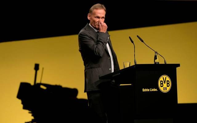 Hans-Joachim Watzke glaubt nicht, dass in ein paar Wochen wieder normal gespielt wird