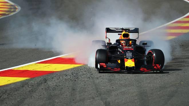 Max Verstappen wird in Monza strafversetzt