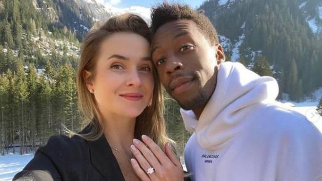 Ab sofort verlobt: Elina Svitolina und Gael Monfils