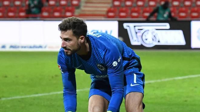 Kevin Trapp ist die Nummer eins bei Eintracht Frankfurt