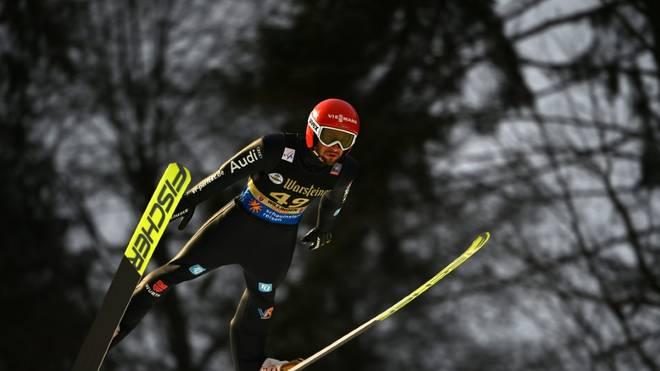 Markus Eisenbichler führt in Klingenthal