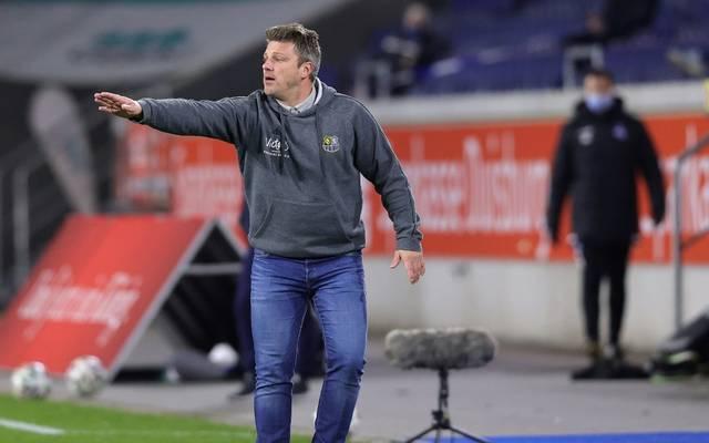Lukas Kwasniok ist Trainer des 1. FC Saarbrücken