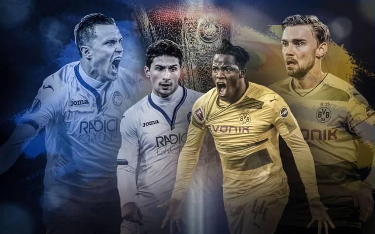 Showtime in der UEFA Europa League (ab 19 Uhr LIVE im Free-TV und im STREAM auf SPORT1): Borussia Dortmund muss im Sechzehntelfinal-Rückspiel bei Atalanta Bergamo seinen 3:2-Vorsprung aus dem Hinspiel ins Ziel retten