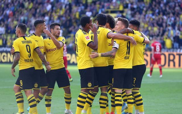 Borussia Dortmund feierte einen deutlichen Sieg über Bayer Leverkusen