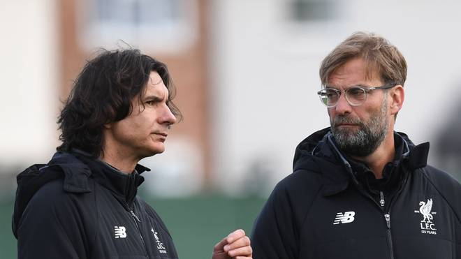 Zeljko Buvac (l.) war bis April 2018 Co-Trainer beim FC Liverpool