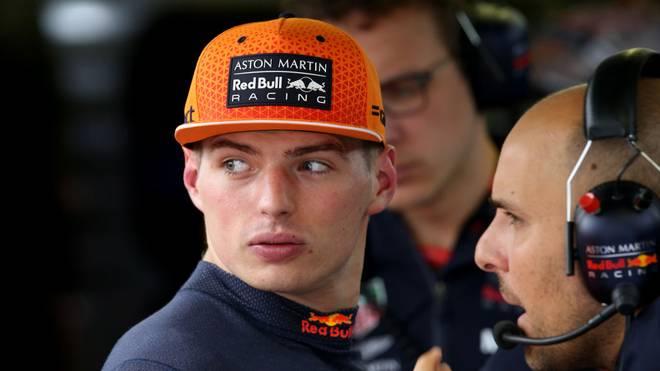 Max Verstappen schied in Belgien früh aus