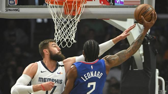 Kawhi Leonard und die Clippers gehen gegen Memphis komplett unter