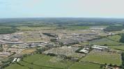 Die Formel-1-Strecke in Silverstone
