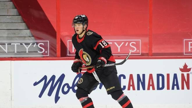Tim Stützle verliert erneut mit Ottawa