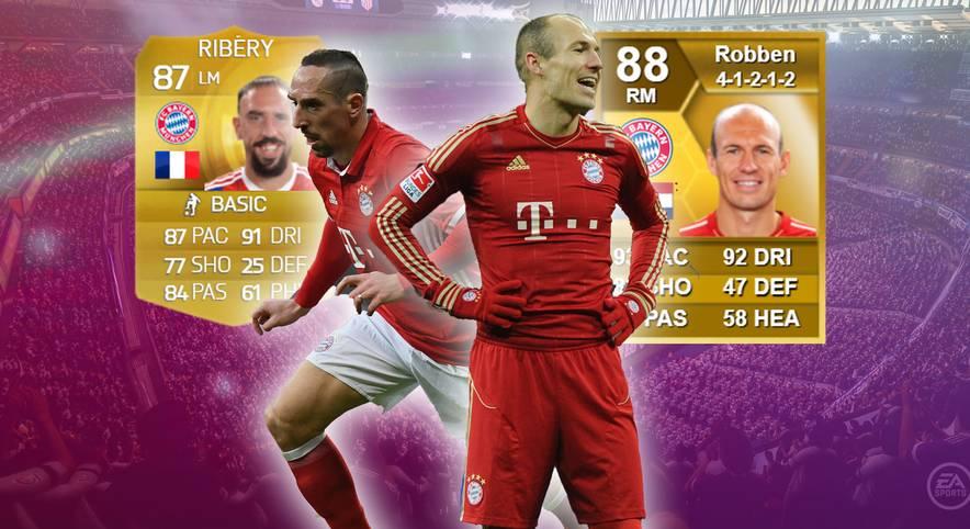 Noch ein Jahr für Robbery: Franck Ribery und Arjen Robben werden den Bayern treu bleiben und weiter die Außenbahn der Bundesliga beackern. Grund genug, einen Blick auf die durchaus erfolgreiche Karriere der zwei Flügelflitzer der Münchner zu werfen.