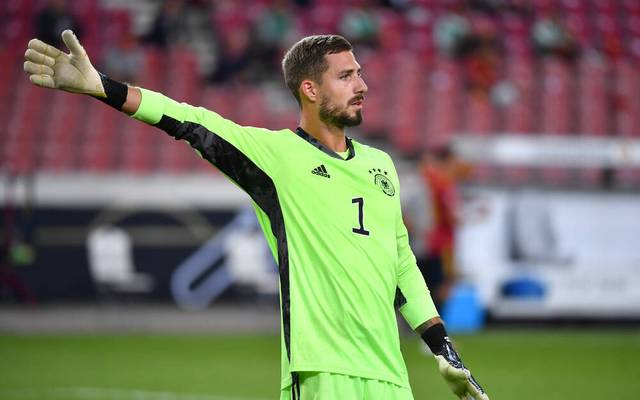 Kevin Trapp stand gegen Spanien im deutschen Tor