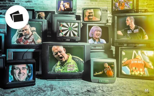 Vor Weihnachten treten bei der Darts-WM viele Stars ans Oche