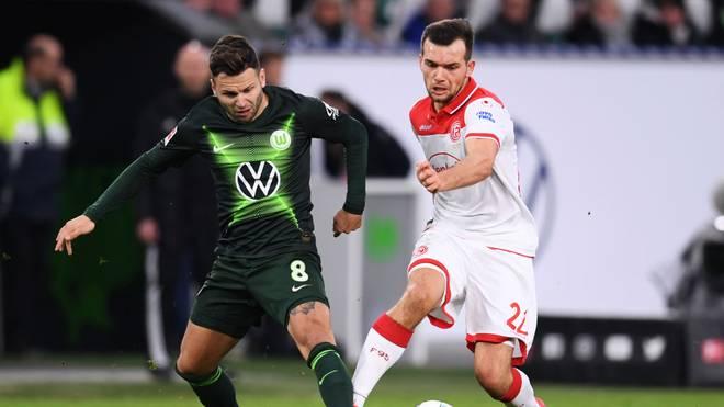 Düsseldorf sichert sich einen wichtigen Punkt in Wolfsburg