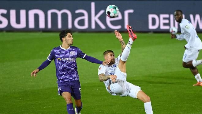 Das Zweitliga-Spiel zwischen VfL Osnabrück und SV Darmstadt 98 konnte wegen Corona nicht am ursprünglich geplanten Termin stattfinden