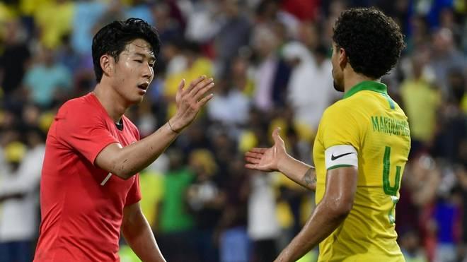 Heung-Min Son führt Südkorea als Kapitän an