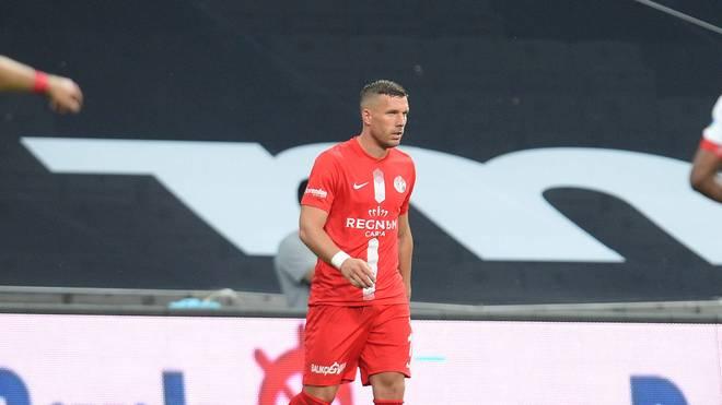 Lukas Podolski verlor mit Antalyaspor erstmals nach
