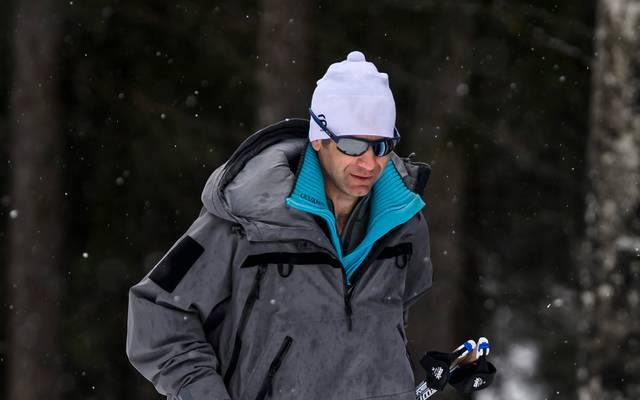 Ole Einar Björndalen trainiert seit dieser Saison Chinas Biathlon-Team