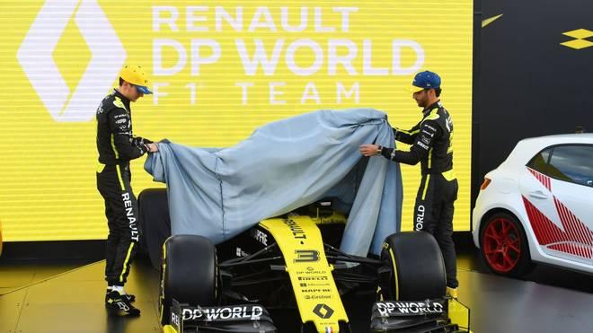 Esteban Ocon (l.) und Daniel Ricciardo besetzen aktuell die beiden Renault-Cockpits
