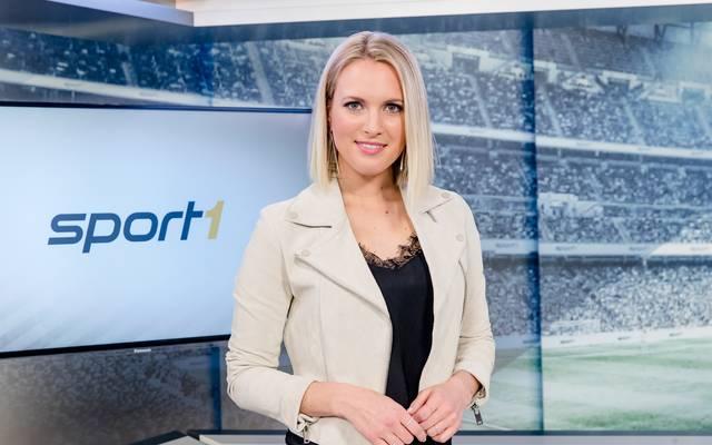 SPORT1-Moderatorin Ruth Hofmann führt durch das neue Magazin