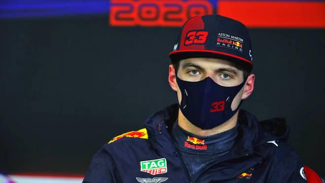 Max Verstappen haderte mit seinem zweiten Platz im Qualifying von Istanbul
