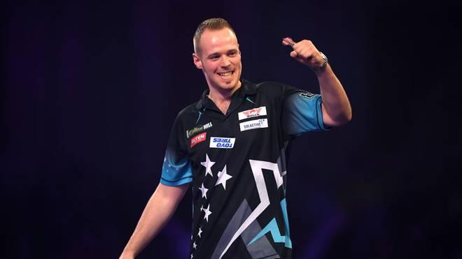 Max Hopp will bei der Darts-WM in die nächste Runde einziehen
