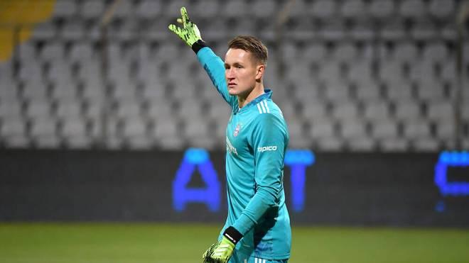 Ron-Thorben Hoffmann ist die Nummer drei beim FC Bayern
