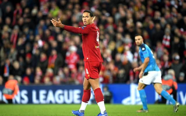 Virgil van Dijk und der FC Liverpool müssen noch ums Achtelfinale bangen