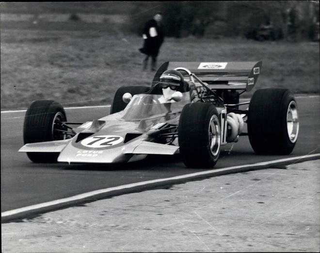 Der Lotus 72 aus dem Jahr 1970 von Jochen Rindt