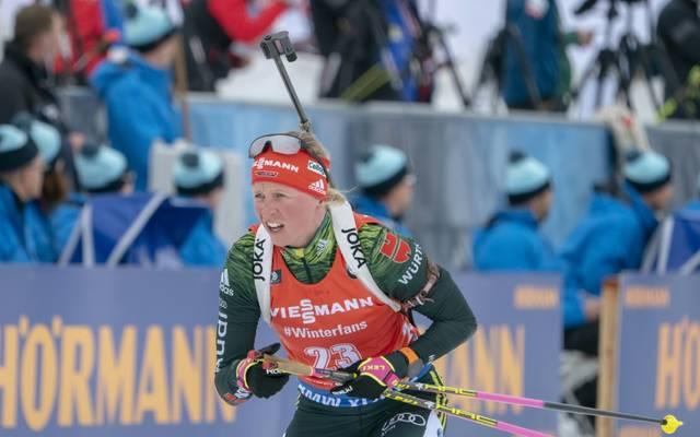 Franziska Hildebrand landete nur auf Platz 17
