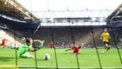 Nachdem Borussia Dortmund dank eines 4:0 über Bayer Leverkusen die erste Drucksituation der Saison bravourös gemeistert hat, fiebert der Klub nun seiner internationalen Reifeprüfung entgegen