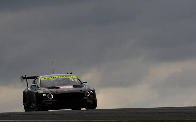 Bentley wird den Continental GT3 (hier bei der British GT im Einatz) in zweiter Generation zum Einsatz bringen