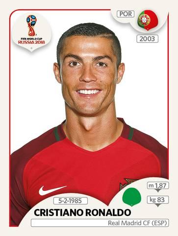 Cristiano Ronaldo besiegte bei dieser WM seinen Torfluch und schoss vier Tore in vier Spielen. Allerdings schieden die Portugiesen bereits im Achtelfinale aus.
