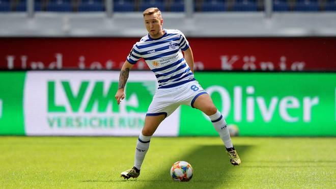 Migel-Max Schmeling kam in der vergangenen Saison auf zehn Pflichtspieleinsätze bei Duisburg