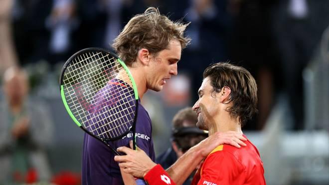 Früher waren sie Gegner, nun arbeiten sie zusammen: Alexander Zverev und David Ferrer