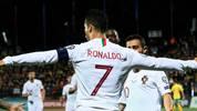 Cristiano Ronaldo jubelt für Portugal