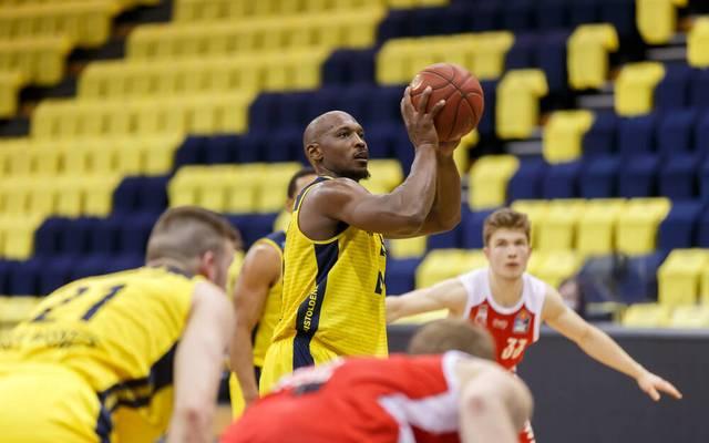 Rickey Paulding war bester Werfer der  EWE Baskets Oldenburg