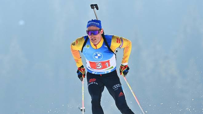 Noch bester deutscher Biathlet in Nove Mesto: Erik Lesser landete auf Rang 14