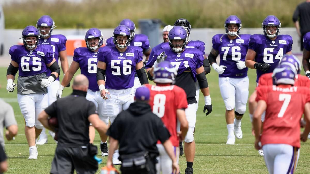 Bei den Minnesota Vikings soll es insgesamt zwölf Coronafälle gegeben haben